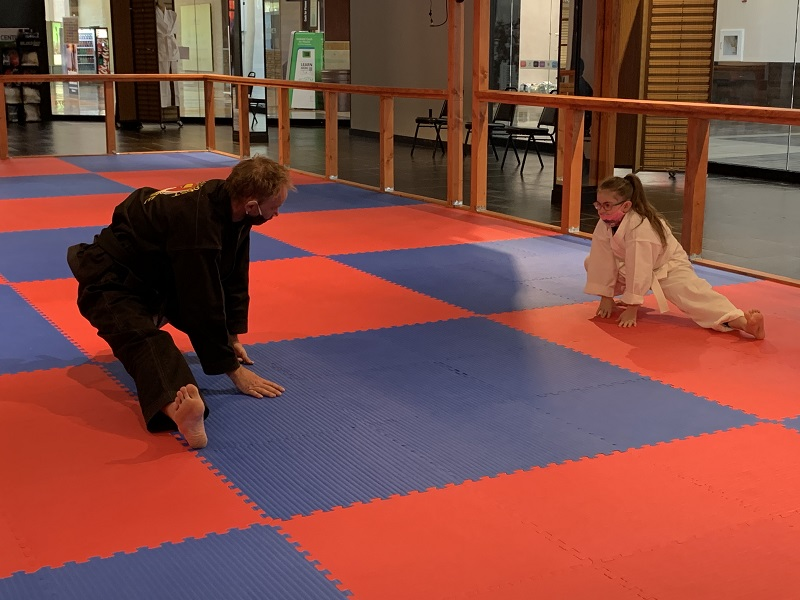 olympia kids training in martial arts classes