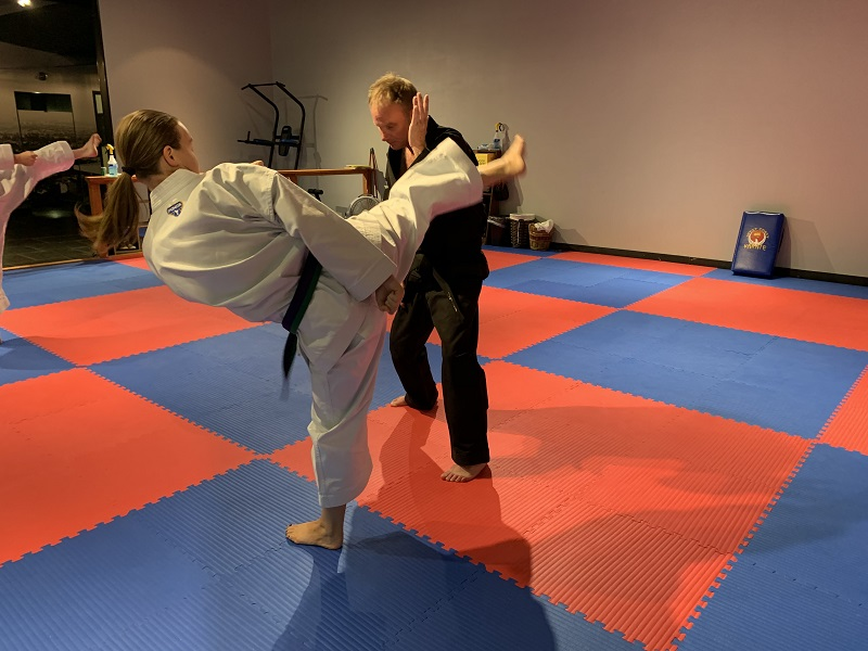 olympia martial arts class for adults