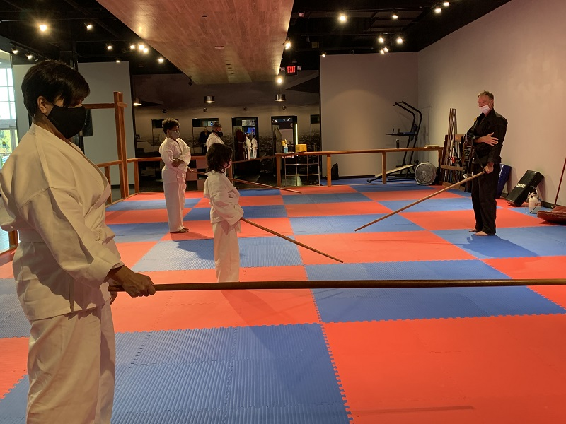 kids martial arts lesson in lympia